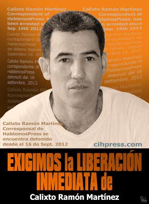Calixto Ramón Martínez 2012