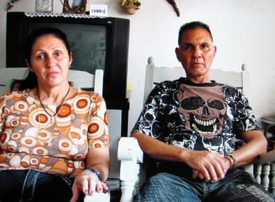 Adísnidia Cruz Segreo y Marco Antonio Lima Dalmao