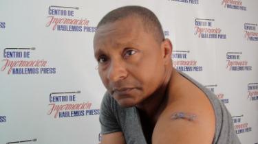 Ramon Alejandro en la sede de Hablemos Press
